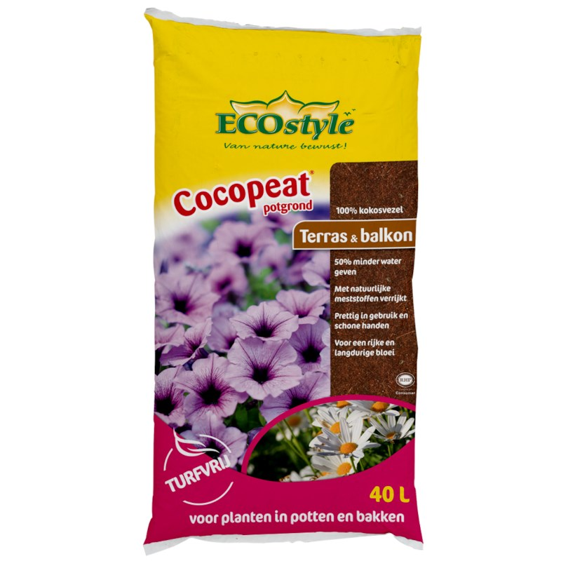 ECOstyle Potgrond (Cocopeat) 40L