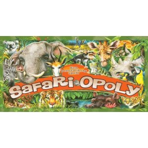 Bordspel Safari-Opoly