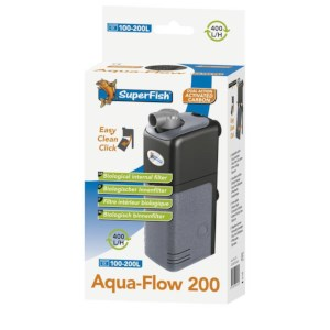 SuperFish Aquaflow 200 Aquarium binnenfilter 500 l/h
