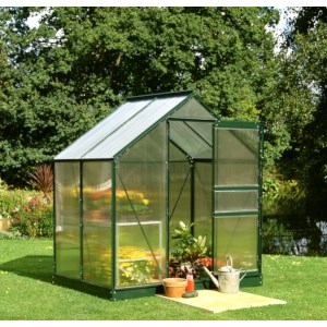 Royal Well Tuinkas Popular 46, groen gecoat, polycarbonaat 4mm/1