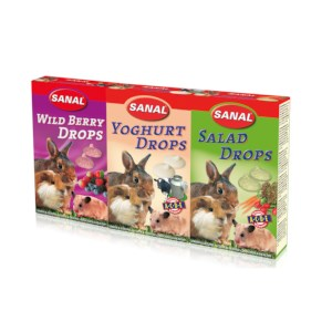 Sanal 3 pak Yoghurt, Salad en Wildberry Drops