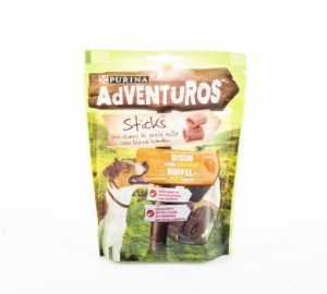 Purina Adventuros Ministicks Chews Buffel 90 g