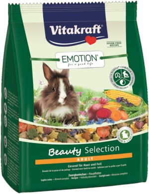 Vitacraft Emotion Beauty Selection Adult Konijnenvoer 1,5 kg