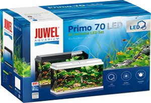 Jewel Aquarium Primo 70+Filter zwart