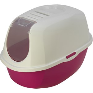 Kattentoilet Smart Cat Hot Pink/ Wit
