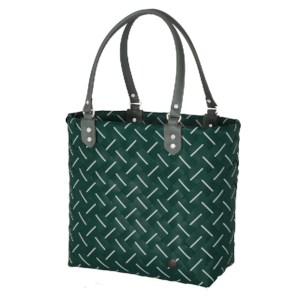 Shopper Intense Botanical Green en White