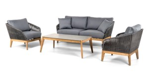 Loungeset Athos 4-delig incl. kussens