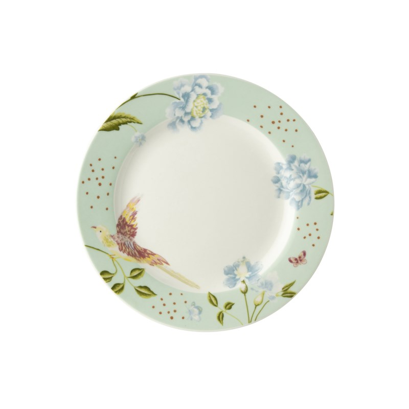 Laura Ashley Heritage Bord Plat Mint Uni 18cm
