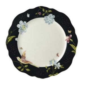 Laura Ashley Heritage Bord Plat Schulp Midnight Uni 24.5cm