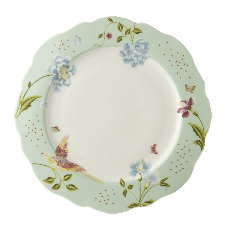 Laura Ashley Heritage Bord Plat Schulp Mint Uni 24.5cm
