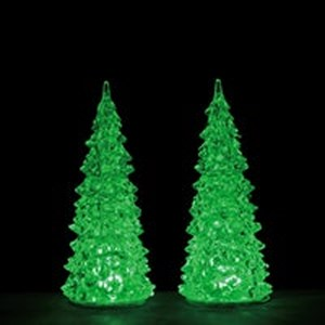 Lemax Crystal Lighted Tree 3 Color Changeable M set van 2 b/o (4.5V)