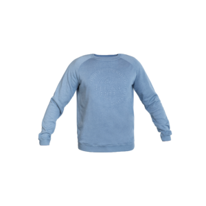 Sweater Embossing Blauw