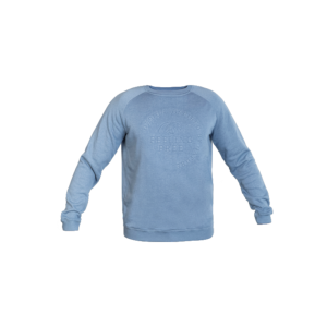 Sweater Embossing Blauw | L
