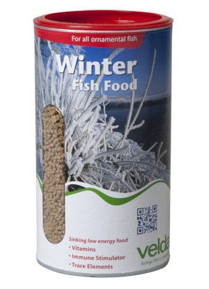 Winter Fish Food Velda 675g/1250 ML