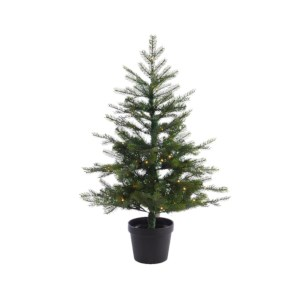 Kunst Mini Kerstboom Grandis 120cm 100Led