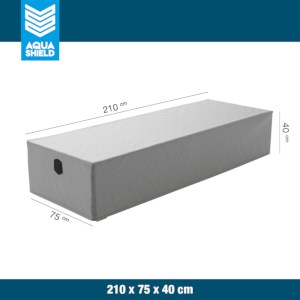Loungebed Cover - Grey