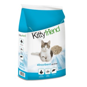 Kattenbakvuling Kitty Friend Absorbent 30L